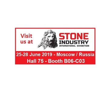 STONE INDUSTRY 2019 - Mosca, Russia