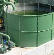 Clean water storage tanks