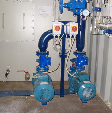 Pumping stations for clean water